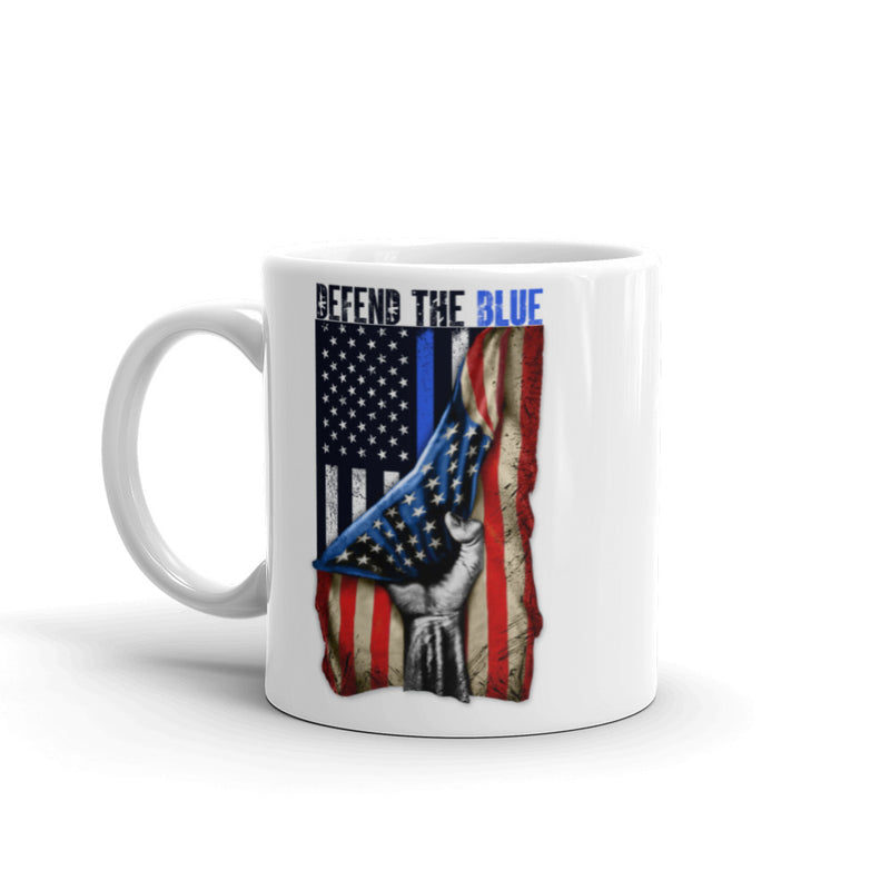 Defend The Blue Mug