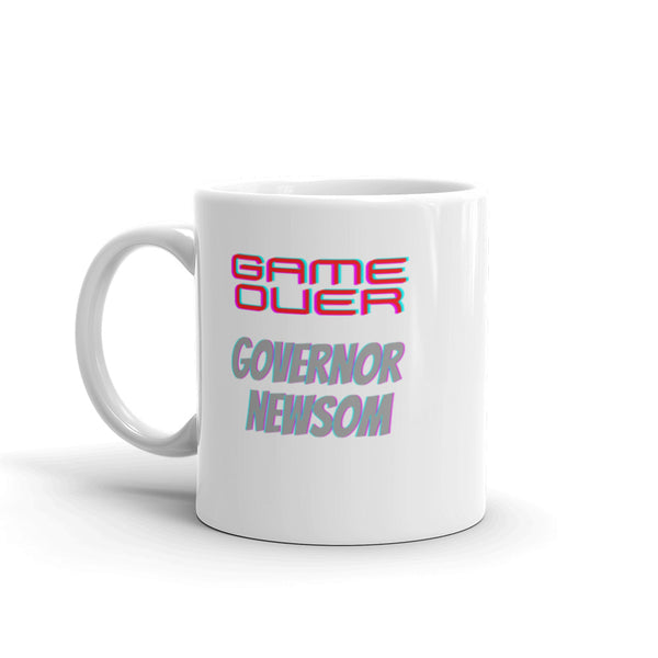 Game Over Newsom Mug
