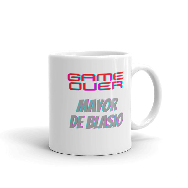 Game Over de Blasio Mug