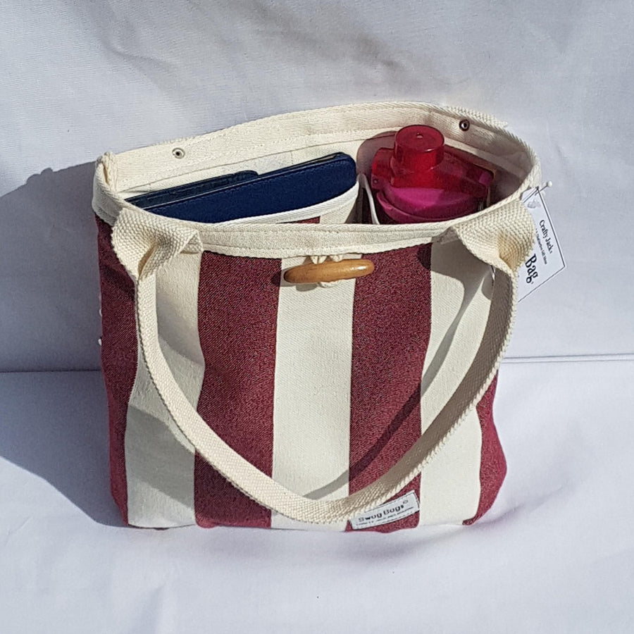 Swag Bag - Small Burgundy