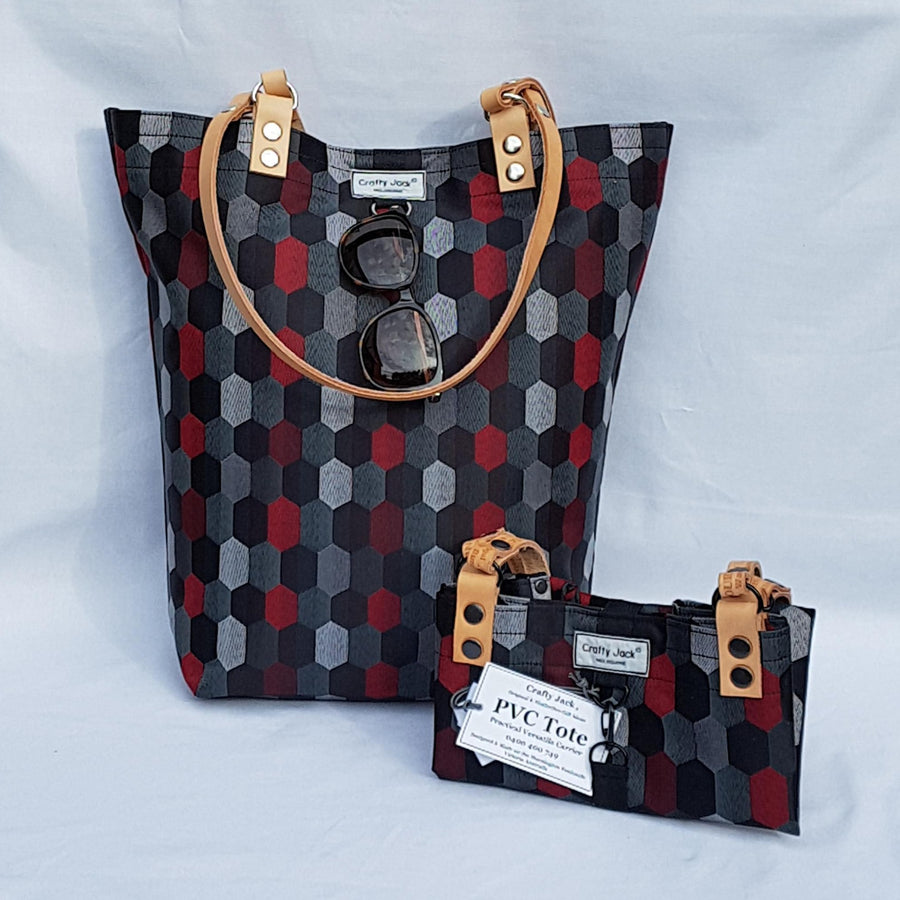 tote-honeycomb-blk-cherry