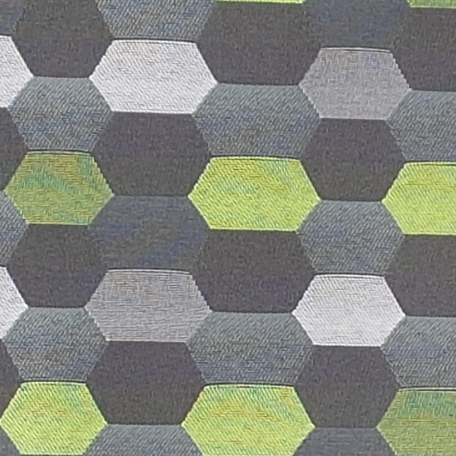 tote fabric-honeycomb-blk-lime