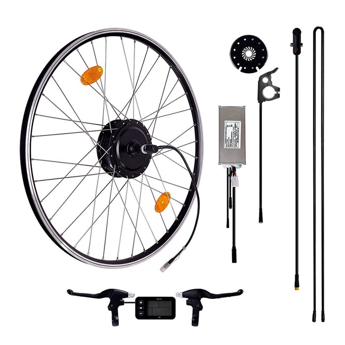 Das-Kit E-Bike Front Motor Conversion Kit, 36V 250W with L6 Display 20""