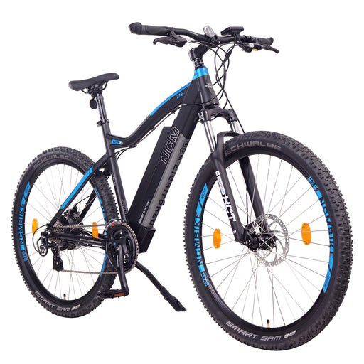 NCM Moscow Electric Mountain Bike,E-Bike, 250W, E-MTB, 48V 13Ah 624Wh Battery.