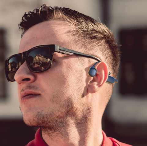 Personal Bone Conduction Bluetooth Headset