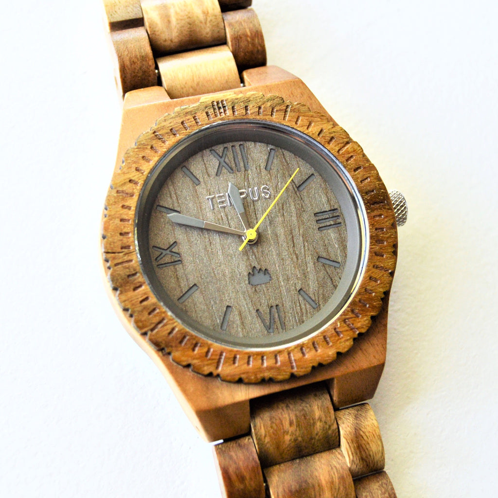 TEMPUS Silvestre | Men's Green Sandalwood Watch | Full Review