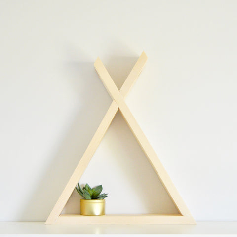 The Tepee Shelf