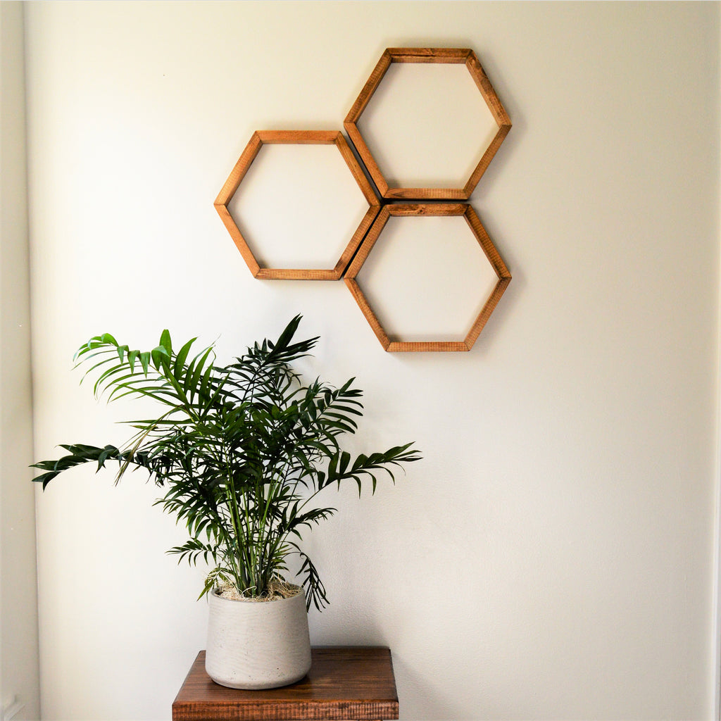 Hexagon Art | Thin Hexagon | Honeycomb