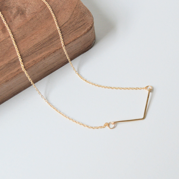 Guidance Bar Necklace