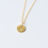 Charm Disk Necklace