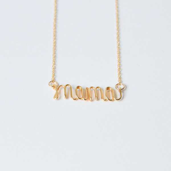 Script Name or Word Necklace