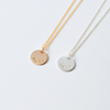 Mini Name|Word Disk Necklace