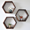 "The Hexagon Shelf | 3.5"" deep 