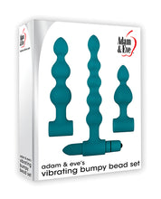 Load image into Gallery viewer, Adam & Eve Vibrating Anal Bumpy Bead Set