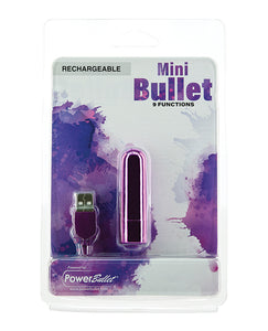 Mini Bullet Rechargeable Bullet - 9 Functions
