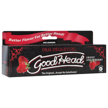 Load image into Gallery viewer, GoodHead Oral Delight Gel - Sweet Strawberry