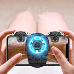 USB Gamepad Holder With Cooling Fan