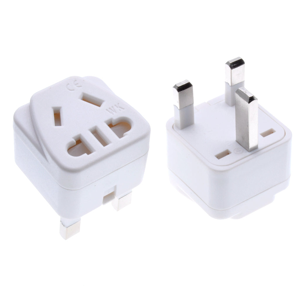 Square Three Plug Power Conversion Adapter