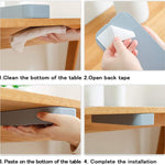 Hidden Desk Drawer Organizer