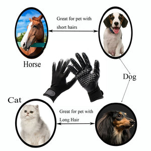 Pet Grooming Massage Gloves - Shopenzer