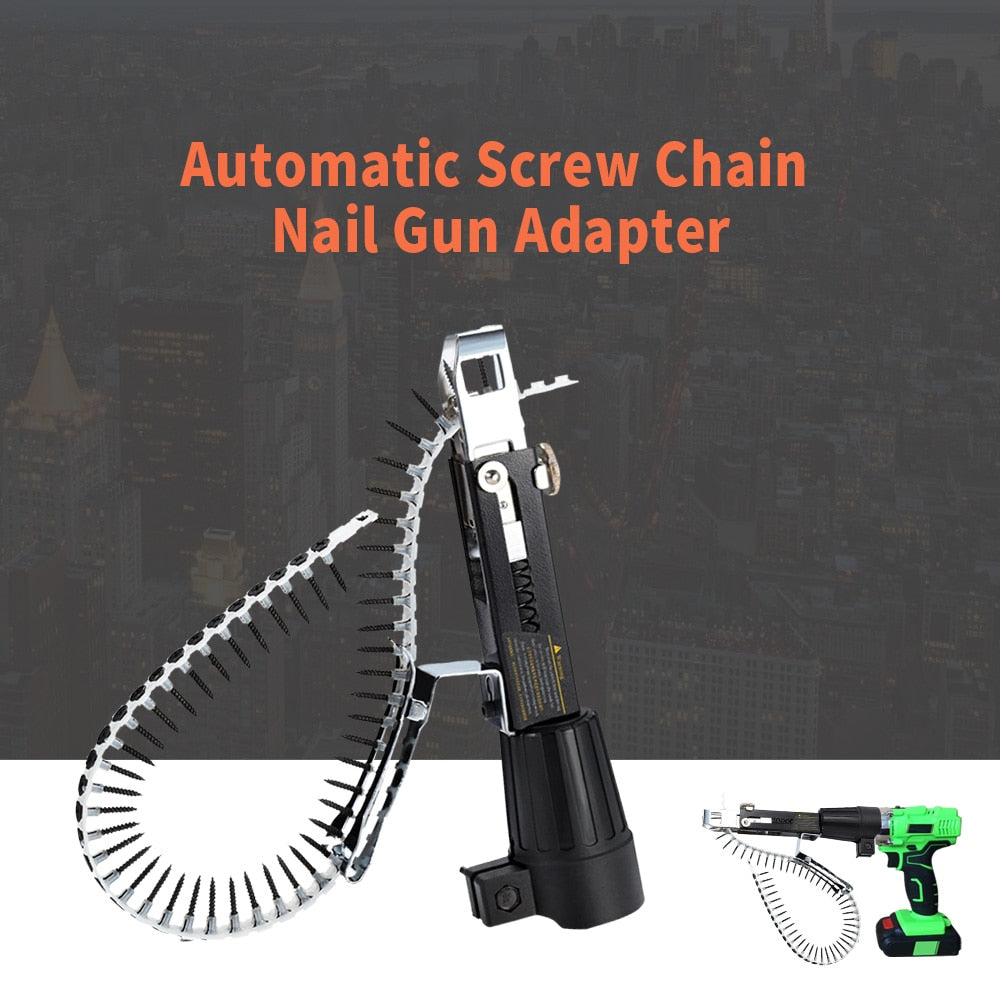 Electric Screw Gun With Chain