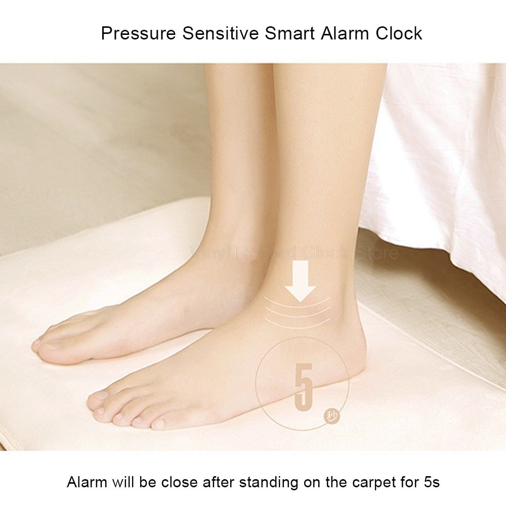 Pressure Sensitive Carpet Alarm Clock - Shopenzer