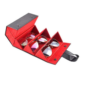 Multifunctional Sunglasses Travel Organizer Case - Shopenzer
