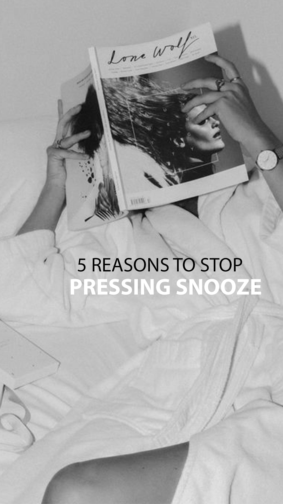 5 Reasons To Stop Pressing Snooze