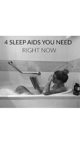 4 Sleep Aids You Need Right Now