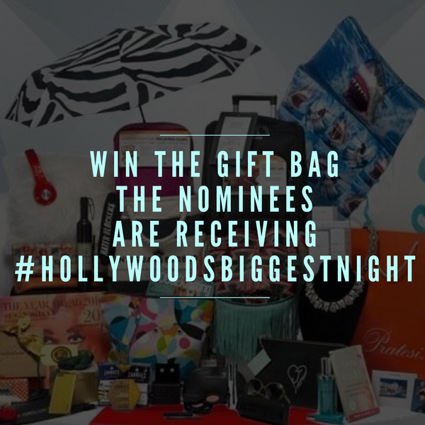 Want What The Celebs Have? Your Chance To Win The Ultimate Award Season Gift Bag Is Right Here!