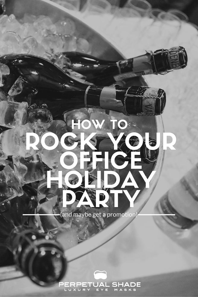 How to Rock Your Office Holiday Party (& Maybe Get a Promotion)