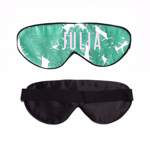 Leaf Me Alone Custom Sleep Mask! Click to customize your own sleep mask!