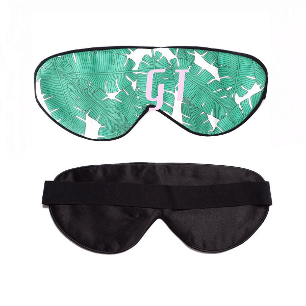 Leaf Me Alone Sleep Mask