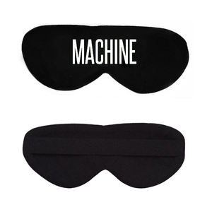 Custom Black Cotton Lux Sleep Mask! Click to customize your own mask!