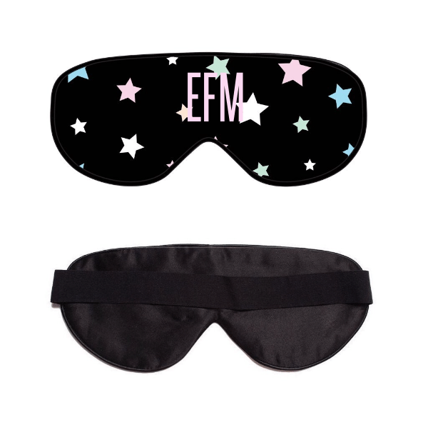 You're a Star Black Sleep Mask