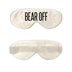White Silk Sleep Mask