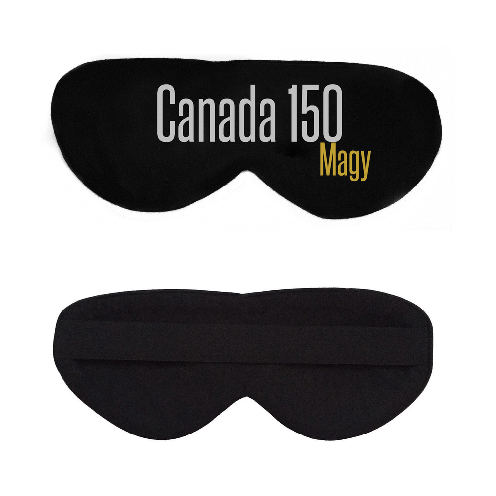 Black Cotton Sleep Mask- Click to Customize