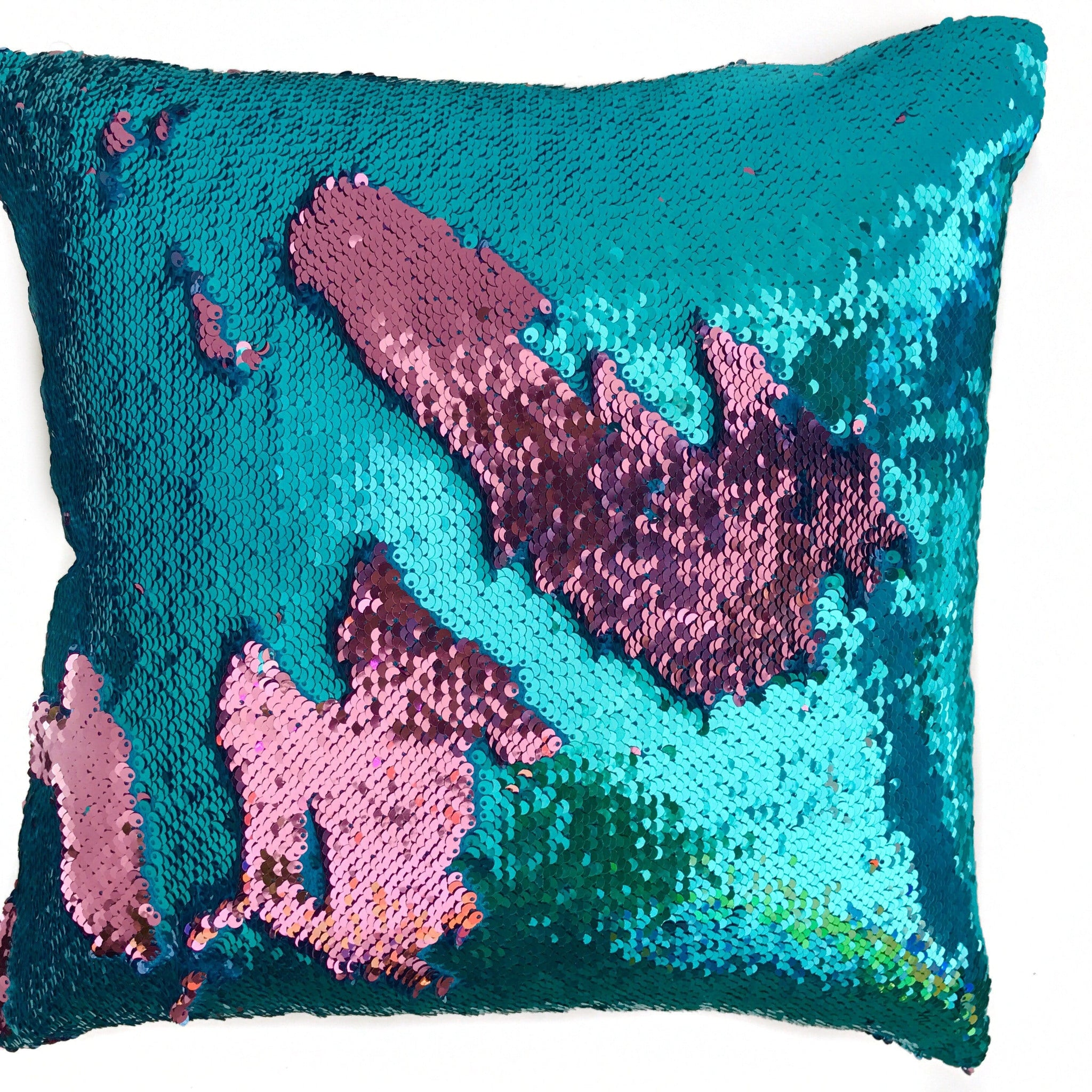 pillows sequin ip mainstays x pillow walmart com reversible decorative mermaid