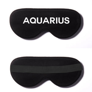 Aquarius Zodiac Cotton Lux Sleep Mask