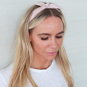 Baby Pink Wire Headwrap