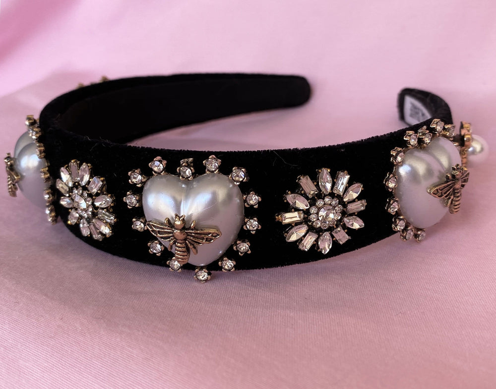 BLACK BEE HEADBAND