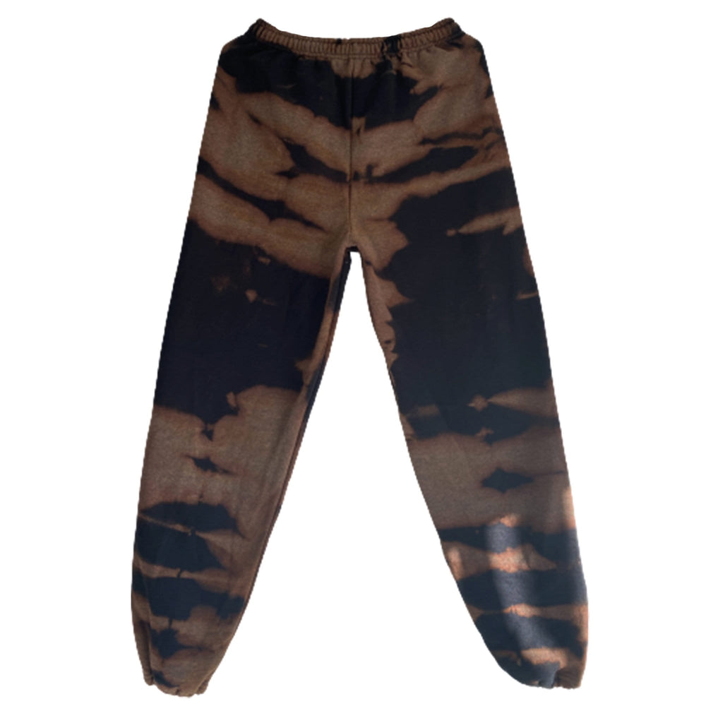Black Tiger Dye Sweatpants