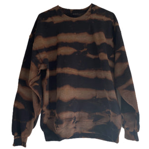 Black Tiger Dye Sweatshirt