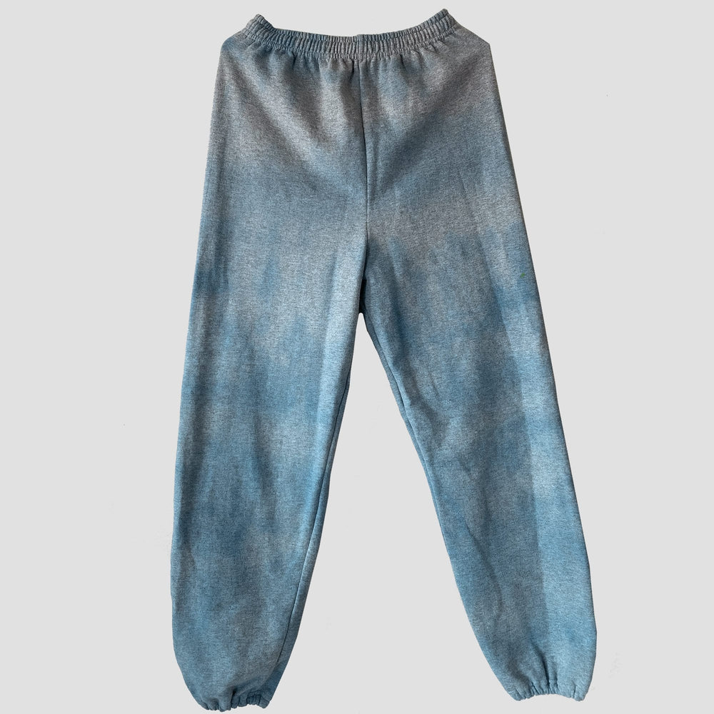 Blue Tie Dye Sweatpants