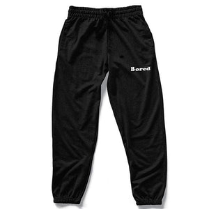 Bored Black Sweatpants