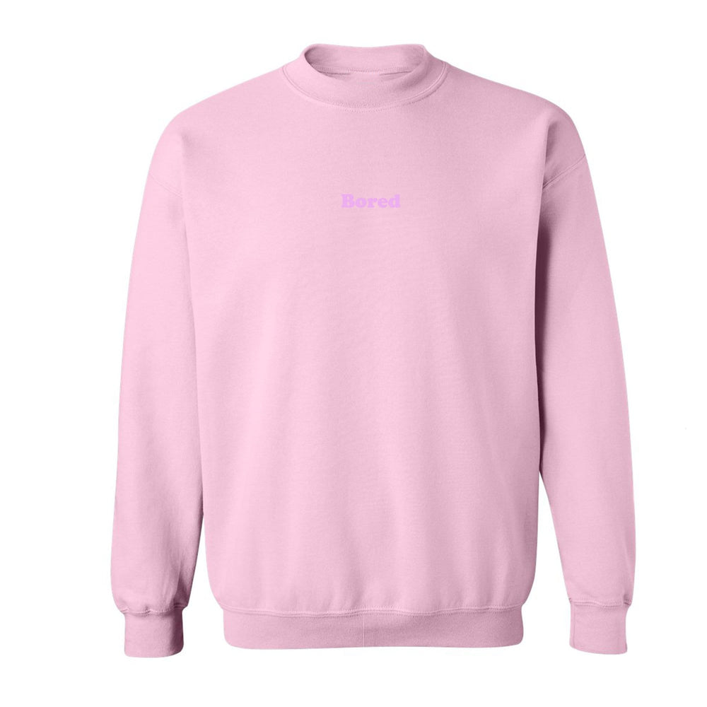 Bored Pink Sweatshirt