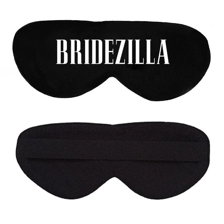 Bridezilla Cotton Lux Sleep Mask