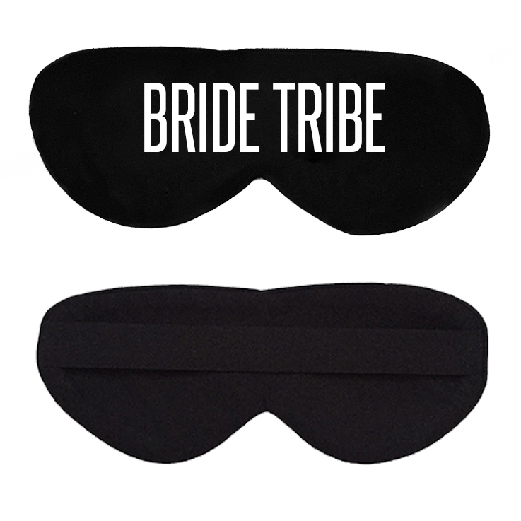 Bride Tribe Cotton Lux Sleep Mask