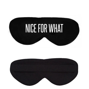 Nice For What Cotton Lux Sleep Mask