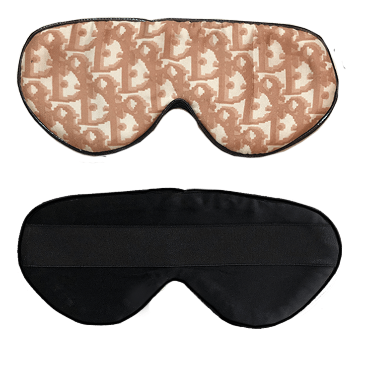 Vintage Dior Sleep Mask- Beige
